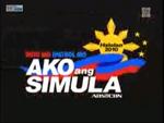 ABS-CBN Halalan 2010 Ako Ang Simula