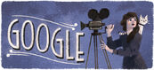 Google Mary Pickford's 125th Birthday