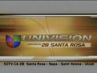 Kdtv univision 28 santa rosa id 2001