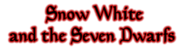 Snow White and the Seven Dwarfs 2001 DVD Logo (Red Trailers)