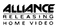 Alliance Releasing Home Video early logo
