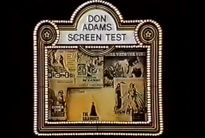 Don Adams' Screen Test