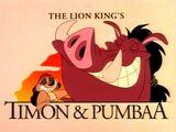 The Lion King's Timon & Pumbaa