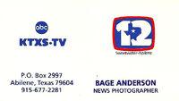 ABC KTXS 12 1982-87 logo