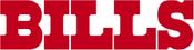 Buffalo Bills wordmark (red)