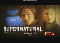 TV5 Test Card Supenatural Season 7 July 2016
