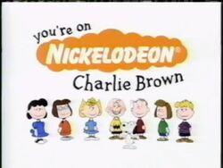You're On Nickelodeon, Charlie Brown.jpg
