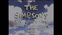KDAF The Simpsons Promo (September 1994)