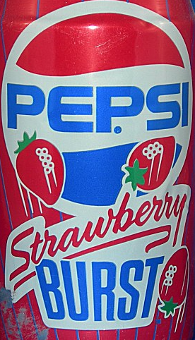 Pepsi Strawberry Burst