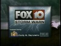 WALA FOX 10 Storm Warn 2000