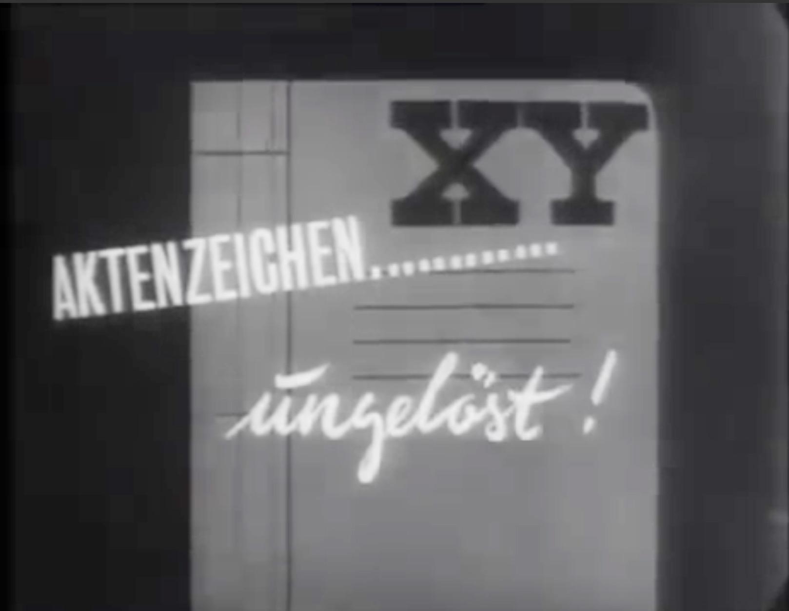 ZDF Aktenzeichen XY ungelöst