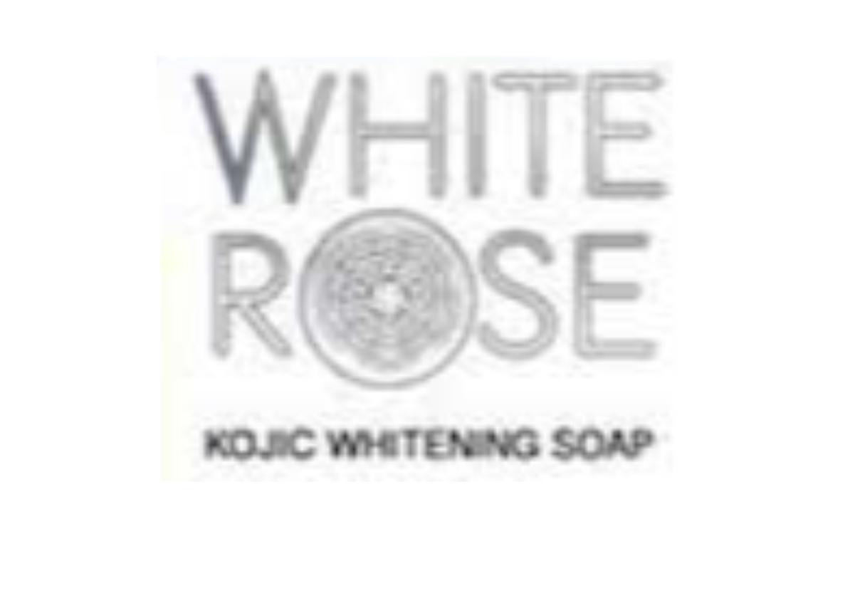 White Rose Kojic Whitening Soap