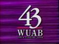 WUAB Channel 43 1992