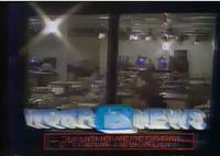 WOKR 13 News 24 Newsroom card 1985