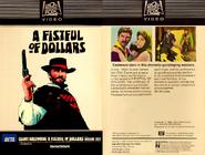 Fistful of Dollars Fox Video 8710224 1982 Farmington Hills Michigan. Twentieth Century-Fox Video (formerly Magnetic Video)