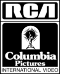RCA Columbia Pictures International Video 1981 Print Logo (B&W)