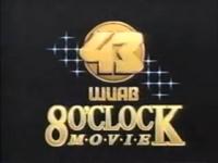 WUAB Channel 43 8'O Clock Movie