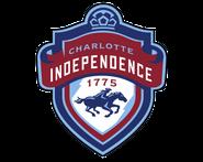 Charlotte Independence logo (winning entry)