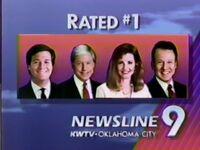KWTV Newsline 9 Rated Number One 1992 ID