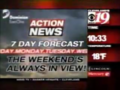 WOIO WUAB Action News 7 Day Forecast Bumper 2003
