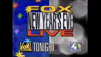 KTXL Fox New Year's Eve Live Promo (31 December 1992)