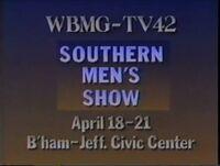 WBMG-TV 42 Southern Men Show for April 1991