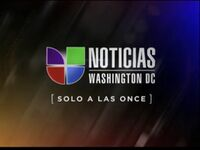 Wfdc noticias univision washington 11pm package 2011