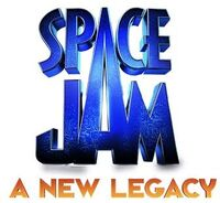 Space Jam A New Legacy logo without rings