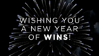 Wishing You A New Year of Wins Happy New Year From 5