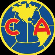 Escudo Club América 1970-1980 aprox Azul