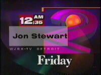 WJBK CBS Stewart 1994 Promo