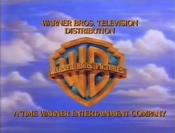 Warner Bros. Television Distribution (1993, alternate font)