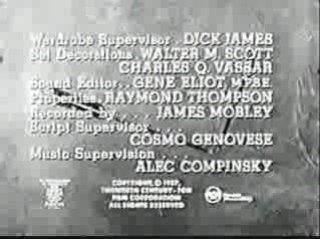 TCF television 1957