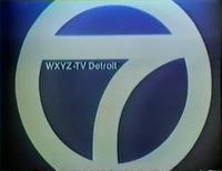WXYZ-TV ID 1970s