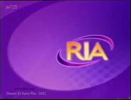 Astro Ria Channel Branding 2002