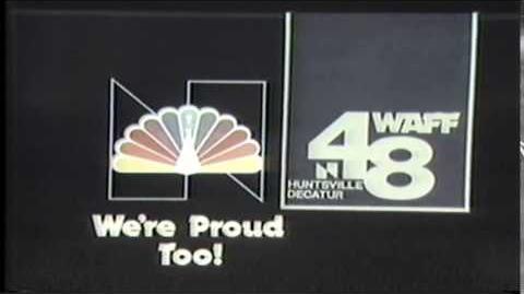 1980 WAFF-TV Channel 48 Huntsville Decatur Alabama Station I.D.