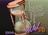 Happy New Year 1990 Ident WJW
