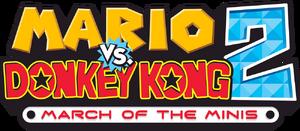 Mario vs Donkey Kong 2 logo.png