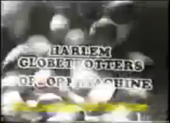 The Harlem Globetrotters Popcorn Machine