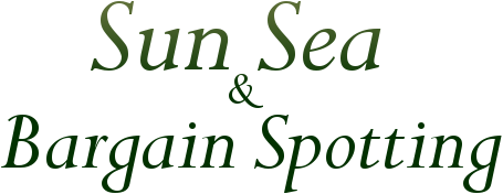 Sun, Sea and Bargain Spotting