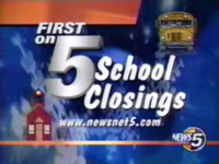 WEWS First On 5 School Closings
