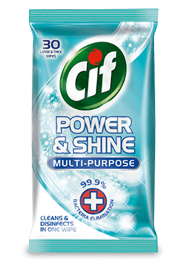 Cif Power and Shine Multipurpose Wipes