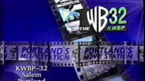 KWBP-TV Portland ID (1997)
