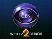 WJBK CBS ID 1988