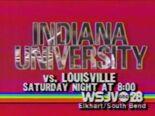 WSJV-28 Hoosiers-V-Cardinals 1987 ID