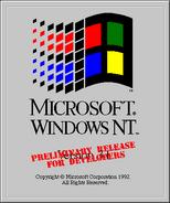 Windows NT 3.1 June 1992