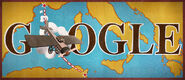 Google 100th Anniversary of the First Non-Stop Flight Across the Mediterranean Sea