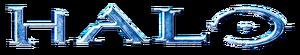 Halo 2-era Halo Logo, depicting a beveled, blue version of the Halo wordmark