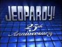 Jeopardy! Season 25a Jeopardy! 25th Silver Anniversary