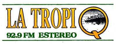 La Tropi Q XEQ-FM 1991.jpg